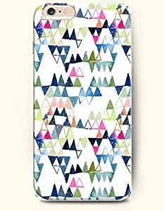 Colorful Triangles - Geometric Pattern - Phone Cover for Apple iPhone 6 Plus ( 5.5 inches ) - OOFIT Authentic iPhone Case