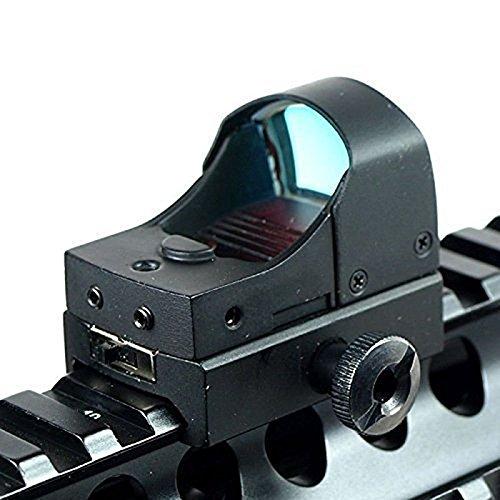 Feyachi Mini Reflex sight/Holographic sight Red Dot Sight Fits for 20mm Weaver Rail Mount