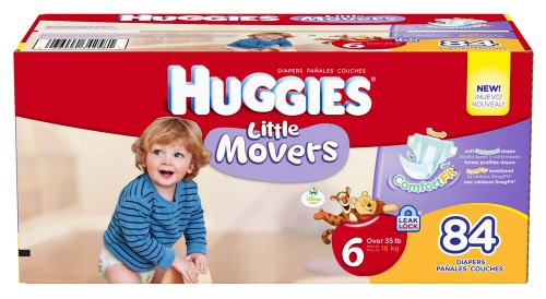Huggies Little Movers Diapers Giant
