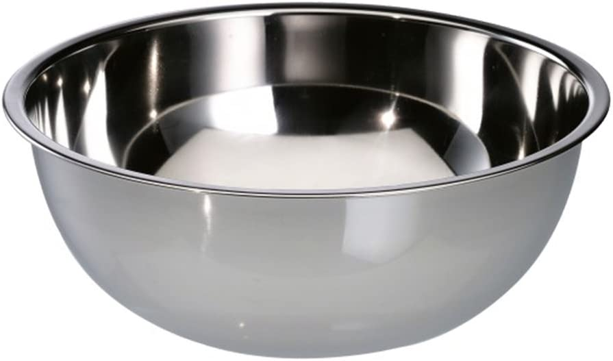 com-four® Recipiente de mezcla jumbo de acero inoxidable, aproximadamente 7 l - Ø 34 cm (01 piezas)