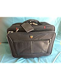 ROOTS RB55BK DELUXE BRIEFCASE BLACK