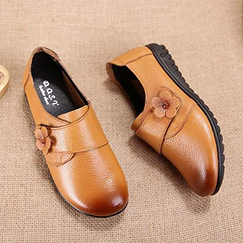 ZHRUI EU 40 coloré Jaune Jaune Taille Chaussures rFIBr