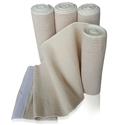 Elastic Bandage stretched Compression Bandaging