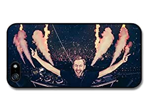 AMAF ? Accessories Calvin Harris Live Screaming with Smoke and Fire case for iPhone 5 5S