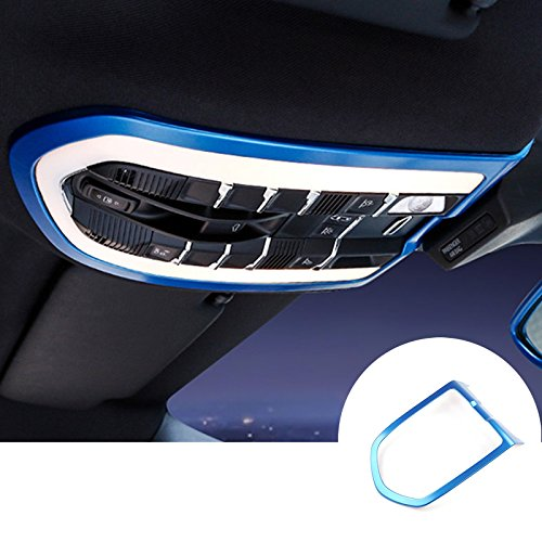 HOTRIMWORLD Blue Interior Front Roof Reading Light Trim Cover 1pcs for Porsche Panamera 2010-2016 by HOTRIMWORLD (Image #6)