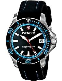 Women's 0621.102 Sea Force 3 H Analog Display Swiss Quartz Black Watch
