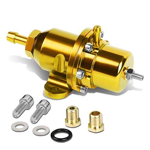 For Honda/Acura DOHC Engine Adjustable Fuel Pressure Regulator (Gold) - B16 B18 B20 F20 F22 H23 ()