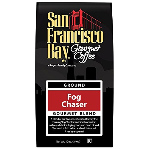 Chuck Wagon Coffee - San Francisco Bay Coffee Ground, Fog Chaser, 12 Ounce