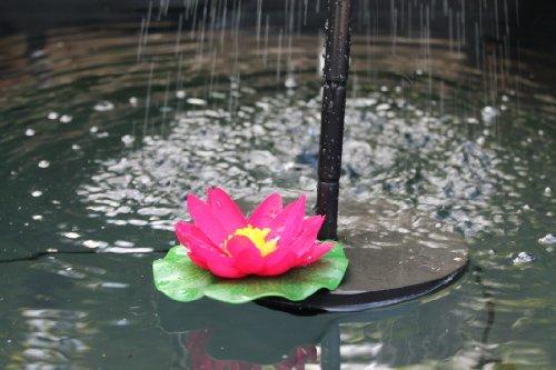 Pannello Solare Per Fontana : Pk pompa solare per fontana d acqua con pannello di
