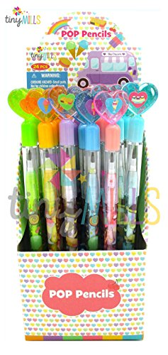 TINYMILLS 24 Pcs Ice Cream Multi Point Pencils by TINYMILLS