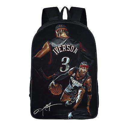 King-mely Mochila De Baloncesto De Moda NBA para Niños Mochilas De ...