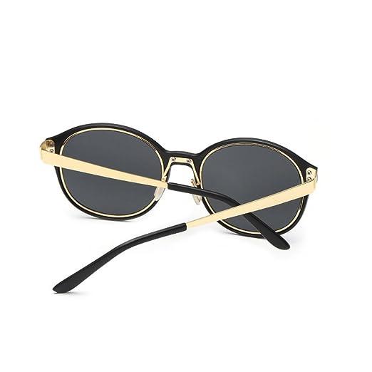 LUFA Vintage Uomini tondo in metallo Donne montatura degli occhiali da sole Occhiali da sole Eyewear NOHxksU