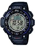 Casio SGW-1000-1AER - Reloj con correa de acero para hombre, color negro / gris
