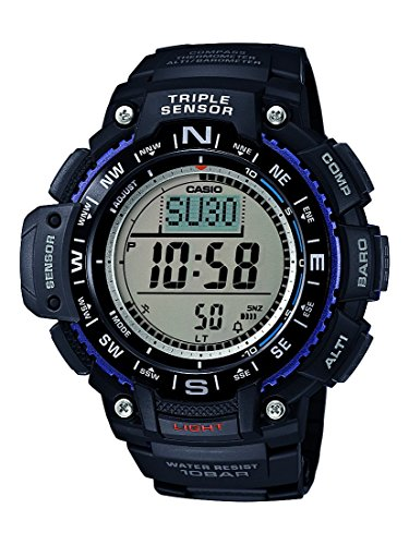 Casio Men's Collection Digital Watch with Resin Strap SGW-1000-1AER