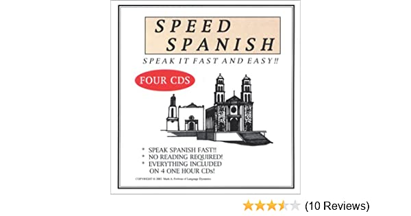 Speed Spanish (4 One-Hour CDs) (Spanish Edition): Mark Frobose: 9781893564510: Amazon.com: Books