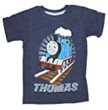 Thomas Friends Full Steam Ahead Toddler Boy Navy Blue T-Shirt