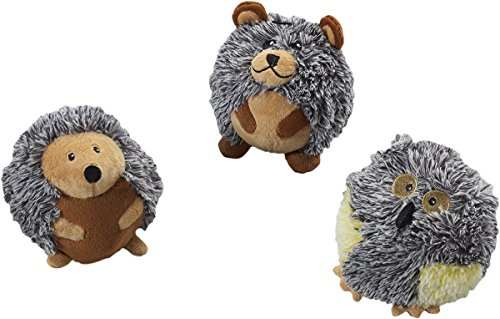 butterballs-forest-animals-interactive-plush-4-squeaker-toy-3-shape-variety-bundle-1-bear-1-owl-and-