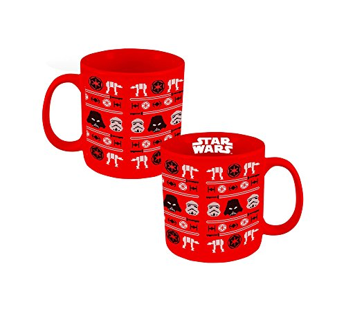(Vandor Star Wars Ugly Sweater Holiday 20 Oz. Ceramic Mug (99662))
