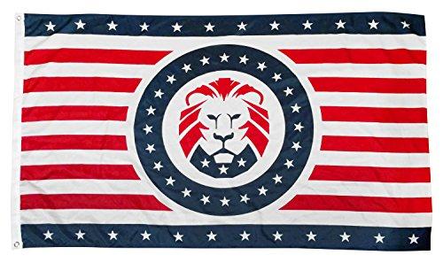 MAGA Lion Flag LEJONET Double sided product image