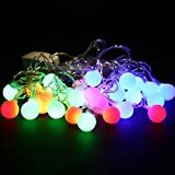 28 LED Bulbs Waterproof Round Ball Christmas Fairy Party String Lights Christmas Tree Ornaments Home Decor Top Quality 5.5 M