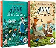 Kit Melhores adaptações em séries (Anne de Green Gables) - (Texto integral - Clássicos Autêntica)