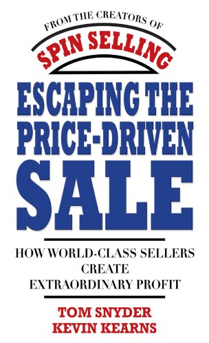 Amazon escaping the price driven sale how world class sellers escaping the price driven sale how world class sellers create extraordinary profit by fandeluxe Choice Image