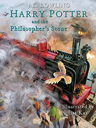 Harry Potter and the Philosophers Stone: Illustrated [Kindle in Motion] (Illustrated Harry Potter Book 1) (English Edition)