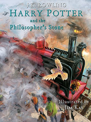 サムネイル画像 -shovelerHarry Potter and the Philosopher's Stone: Illustrated [Kindle in Motion] (Illustrated Harry Potter Book 1) (English Edition) の 1