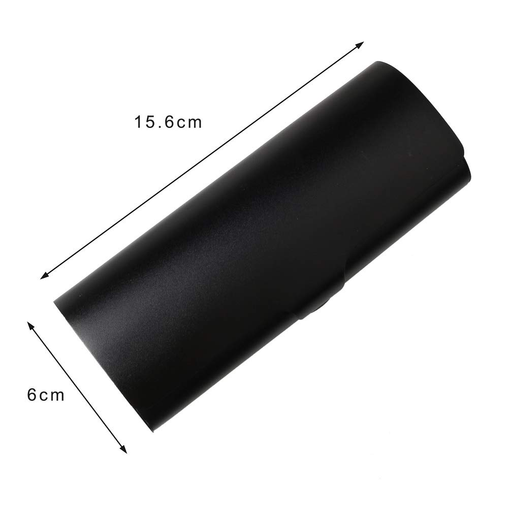 Lightweight Eyeglasses Case Spectacles Protection Case with Aluminium Outer Shell and Snap Lock for Women Men kuou Slim Aluminium Glasses Case