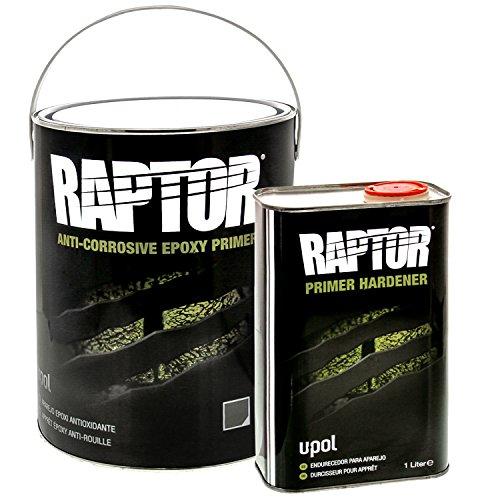 Raptor U-Pol UP4830 4:1 ANTI-CORROSIVE EPOXY GRAY PRIMER 5L KIT