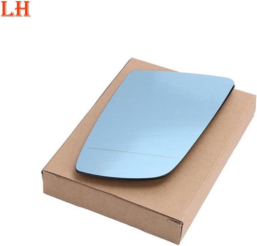 Ricoy Blau Getönte Beheizte Elektrische Wing Spiegelglas Für E60 E61 2003 2010 E63 E64 Links Auto