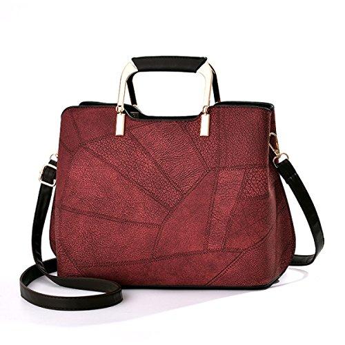 Bolso De Hombro De La Moda Bolso De Hombro De La Moda Bolso Simple,Purple Red