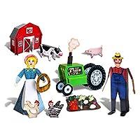 Paper Craft Kit - The Farm Kit