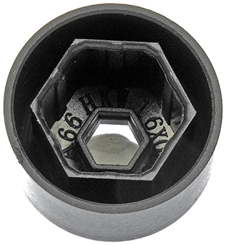 UPC 019495366652, Dorman 611-644 Black Push On Wheel Nut Cover, Pack of 5
