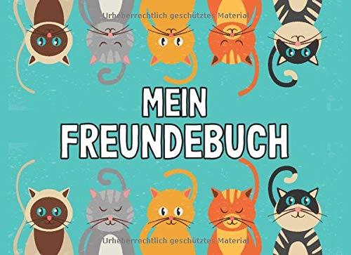 Freundebuch A5 Cat