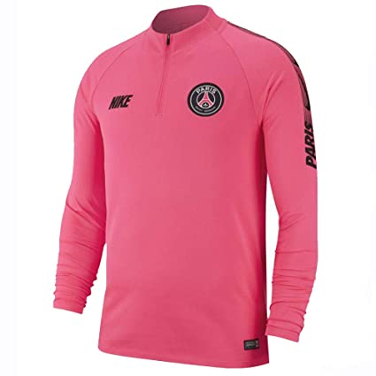 02e04ac4 Amazon.com : Nike 2018-2019 PSG Drill Top (Hyper Pink) - Kids : Sports &  Outdoors