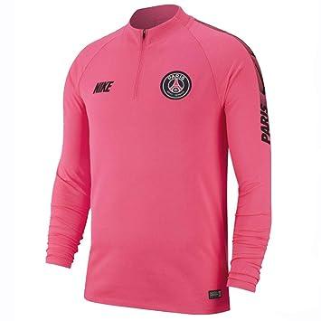 ad8aeae46e65f Nike PSG Y NK Dry Sqd Dril Top T-Shirt à Manches Longues Enfant ...