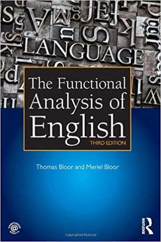 Book The Functional Analysis of English 3rd edition by Bloor, Thomas, Bloor, Meriel (2013)