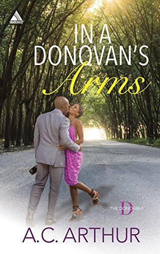 book cover of In a Donovan\'s Arms