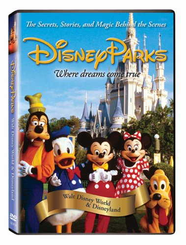DVD : Disney Parks: The Secrets, Stories and Magic Behind the Scenes