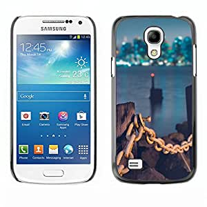 Hot Style Cell Phone PC Hard Case Cover // M00103531 places lights city // Samsung Galaxy S4 Mini i9190