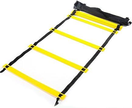 SKL Speed Agility Ladder 6M Escalera de entrenamiento de 12 ...