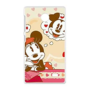 NICKER Mickey Mouse Phone Case for Nokia Lumia X case