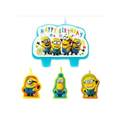 amscan Despicable Me Birthday Candle Set: Baby