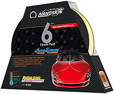 "AUTOSCRUB 6"" Medium Grade Foam Pad for DA Polisher [AS-003]"