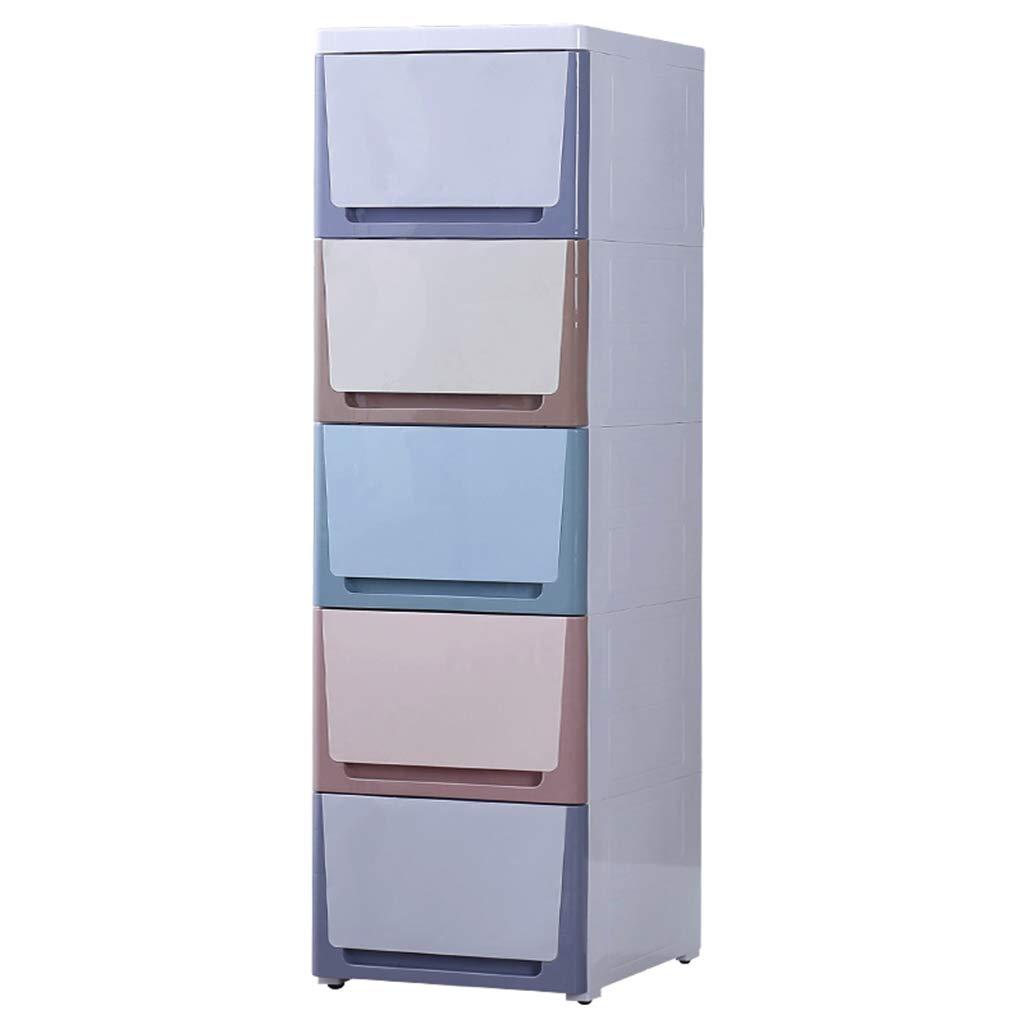 A 3840100CM Kitchen Shelf, Narrow Slit Drawer Type Finishing Cabinet Snack Sundries Key Storage Box Hall Locker, 30-38CM (color   B, Size   30  40  100CM)