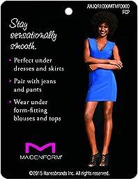 Maidenform Flexees Women\'s Shapewear Body Briefer, Latte Lift, 36D