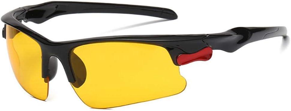 Laufen TAC Sport-Sonnenbrille PC-Rahmen f/ür Fahren HoneybeeLY Sport-Sonnenbrille f/ür Herren und Damen Fahrrad-Sonnenbrille mit UV400-Schutz Outdoor-Aktivit/äten Nacht