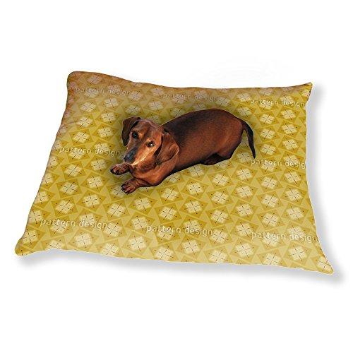Luxury Dog Pillow (Scottish Squares Dog Pillow Luxury Dog / Cat Pet Bed)