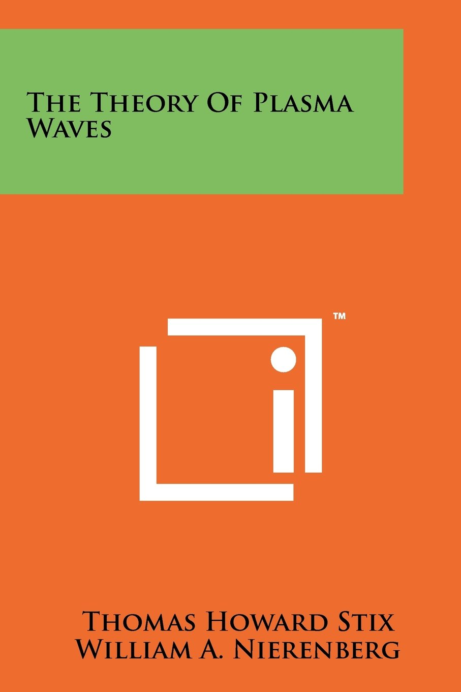 Download The Theory Of Plasma Waves pdf epub